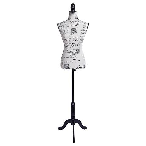 Dress Form Display W/ Black Tripod Stand Designer Female Mannequin