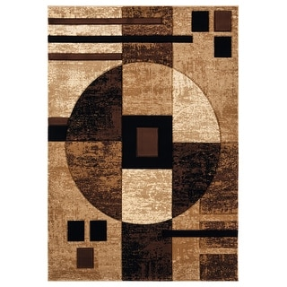 Link to Porch & Den Cummins Hand-Carved Area Rug Similar Items in Transitional Rugs