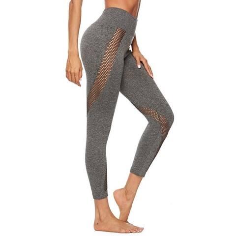 High Waist Yoga Pants Tummy Control Workout Running Yoga Leggings
