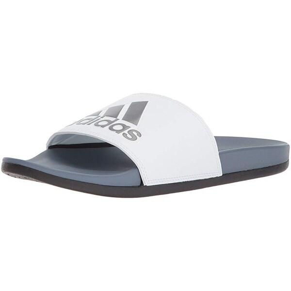 c20229de4 Shop Adidas Men s Adilette Cf+ Logo Slide Sandal