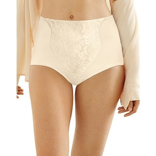 Bali Light Control Lace Panel Brief 2-Pack - L