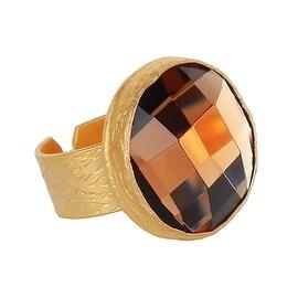 Helene Jewelry Large Mercury Glass Ring