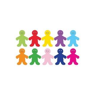 Die Cut Accents 7In Rainbow People