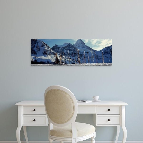 Easy Art Prints Panoramic Image Skis Mt Iniboine Provincial Park British Columbia Canada Canvas On Free Shipping Orders Over
