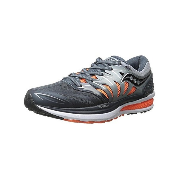 Shop Saucony Mens Hurricane ISO 2 Running Shoes Everun Trainers ... 8d37a2e3f