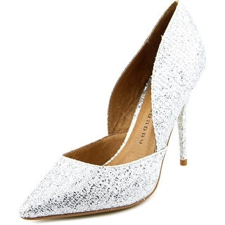 Chinese Laundry Stilo Women Round Toe Synthetic Silver Heels