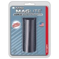 Maglite AA Black Leather Belt Holster