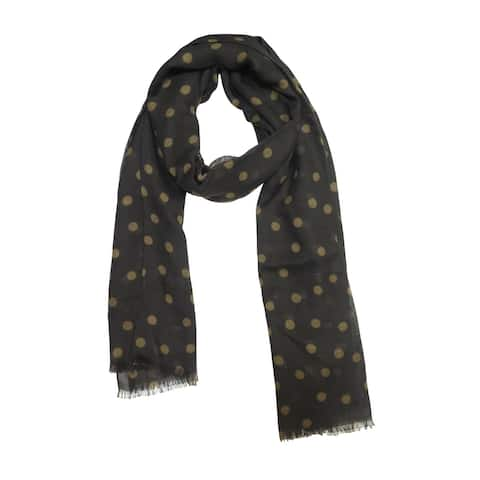 Luciano Barbera Mens Blue Polka Dot