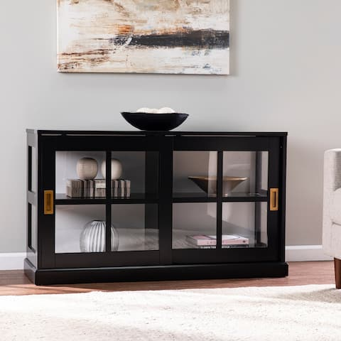 SEI Furniture Byhall Curio Cabinet