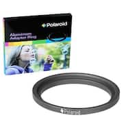 Polaroid Step-Up Aluminum Adapter Ring 49mm Lens To 52mm Filter Size