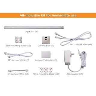 "BLACK+DECKER LED Under Cabinet Lighting Kit, 18/24"", Warm White (2 options available)"