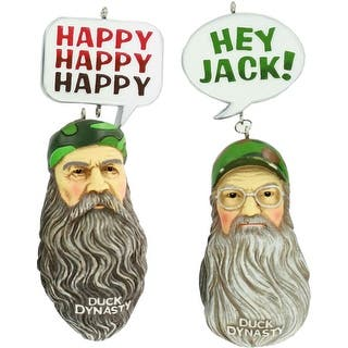 Duck Dynasty Ornament Set - Si & Phil
