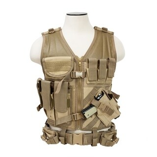 VISM® by NcSTAR® Tactical Vest [MED-2XL] - Tan