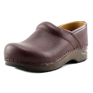 Dansko Gitte Round Toe Patent Leather Clogs