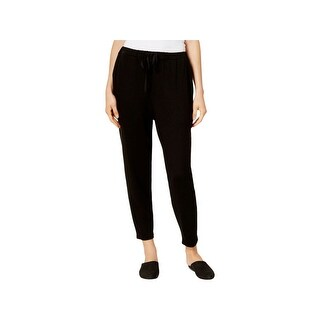 Eileen Fisher Womens Ankle Pants Slouchy Tapered