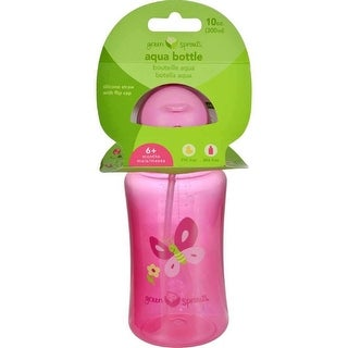 Green Sprouts Aqua Bottle, Pink - 1 ct