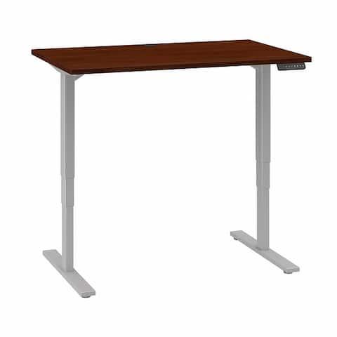 Move 80 Series 48W x 30D Height Adjustable Standing Desk in Cherry