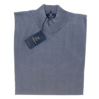 Real Cashmere Mock Neck Big Mens Indigo Sweater|https://ak1.ostkcdn.com/images/products/is/images/direct/741b8c281e2ce3f4f318fa33c61d732bc66f438c/Real-Cashmere-Mock-Neck-Big-Mens-Indigo-Sweater.jpg?impolicy=medium