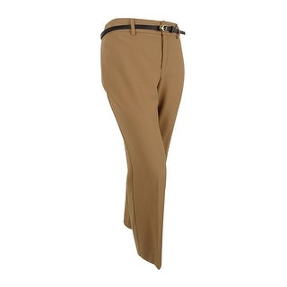 Charter Club Women's Plus Size Tummy-Control Trousers