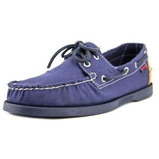 Sebago Spinnaker Moc Toe Leather Boat Shoe