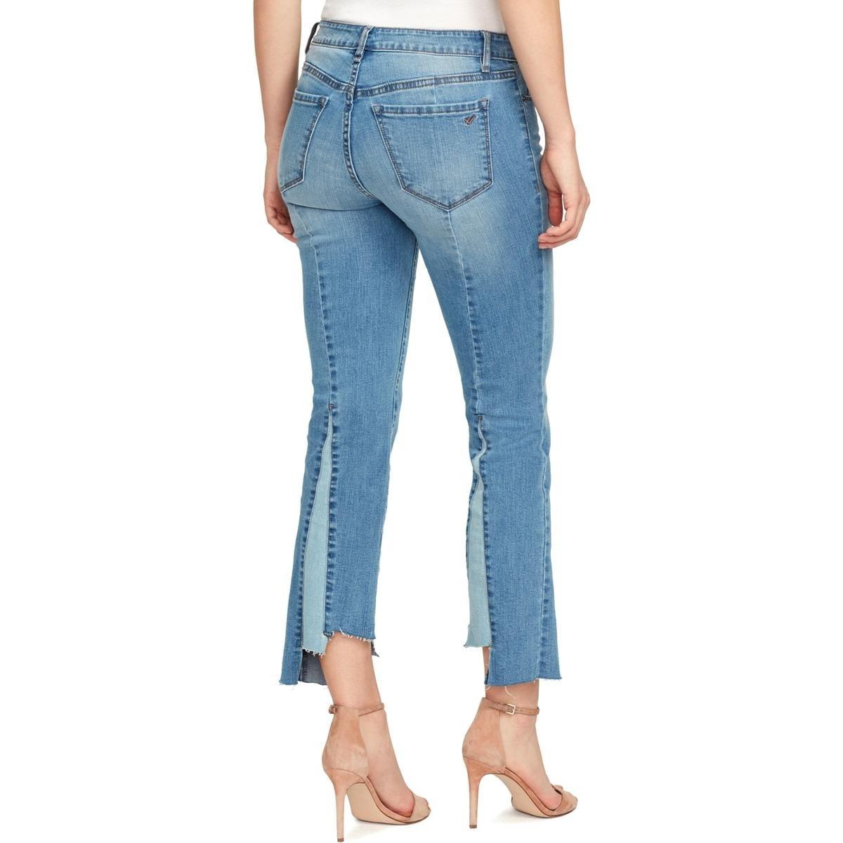 Sanctuary Clothing Womens Jane Flare Crop Denim Pant