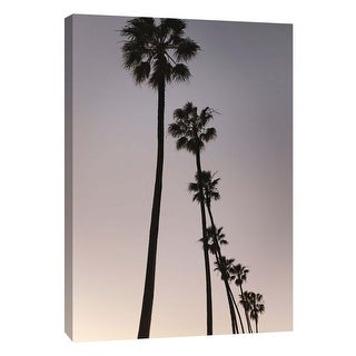 "PTM Images 9-106017  PTM Canvas Collection 10"" x 8"" - ""Palm Tree Silhouettes"" Giclee Palm Trees Art Print on Canvas"