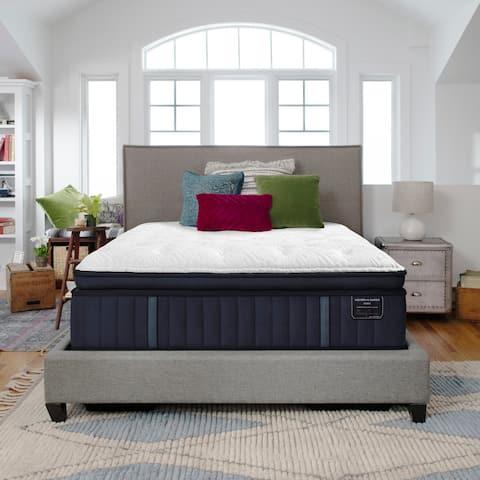 Stearns & Foster Estate 14.5-inch Firm Euro Pillowtop Mattress Set