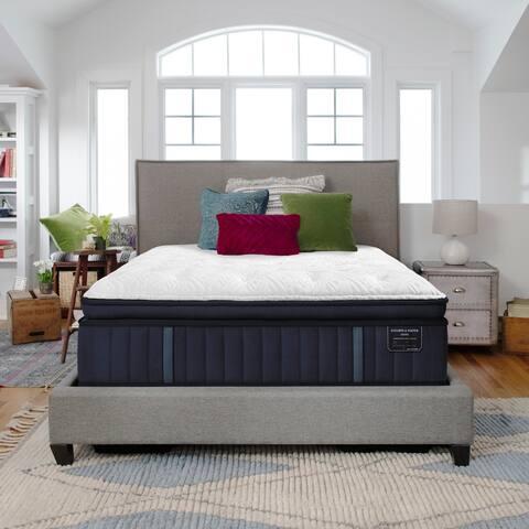 Stearns & Foster Estate 15-inch Firm Euro Pillowtop Mattress Set