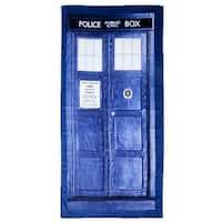 Doctor Who TARDIS Beach Towel