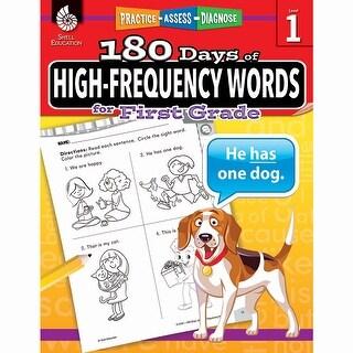 180 Day High Freq Words Gr1 Workbk