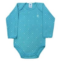 Baby Bodysuit Unisex Polka Dot Long Sleeve Infant Pulla Bulla Sizes 0-18 Months