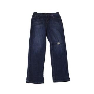 Style & Co. Denim Ripped Boyfriend Jeans