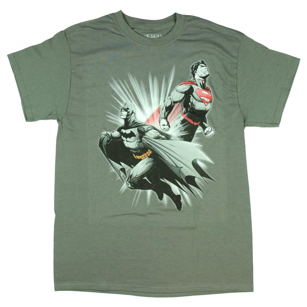 Big Group Adult Crewneck Sweatshirt Justice League of America