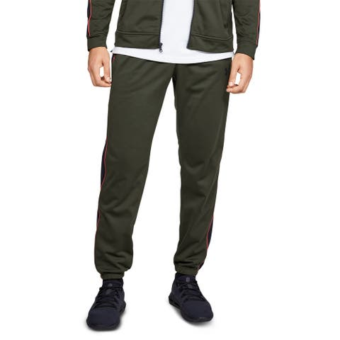 Under Armour Men's Athletic Unstoppable Track Pants, Olive, S