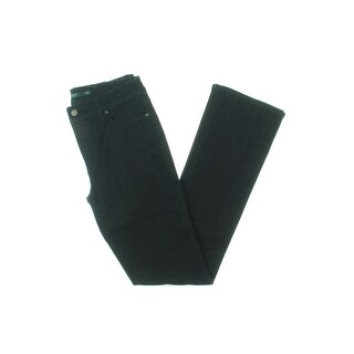 Lauren Ralph Lauren Womens Bootcut Jeans Skinny Slimming Fit