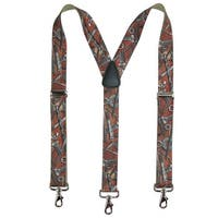 CTM® Men's Elastic Craftsman Novelty Suspenders with Swivel Hook Clips