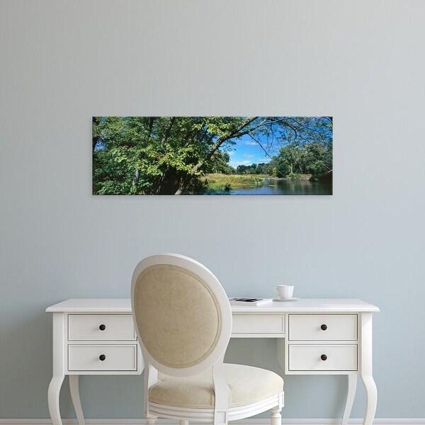Easy Art Prints Panoramic Image 'Scenic view of marsh, Chiwaukee Prairie, Kenosha County, Wisconsin, USA' Canvas Art