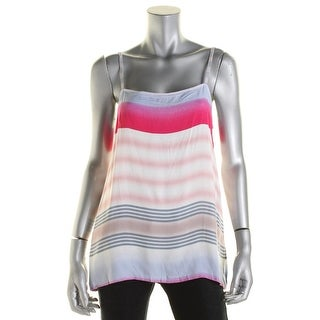Splendid Womens Juniors Knit Striped Tank Top - M