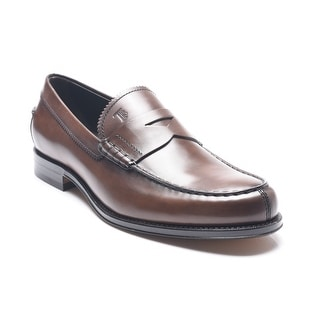 Tod's Men's Leather Loafers Brown