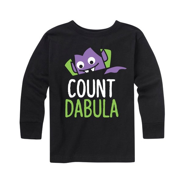 0455eebd Shop Count Dabula - Youth Long Sleeve Tee - Ships To Canada ...