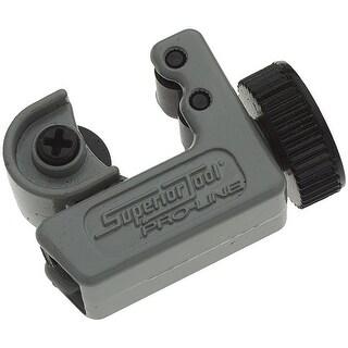 """Superior Tool 35030 Mini-Tubing Cutter, Aluminum, Grey & Black, 5/8"""" Dia"""