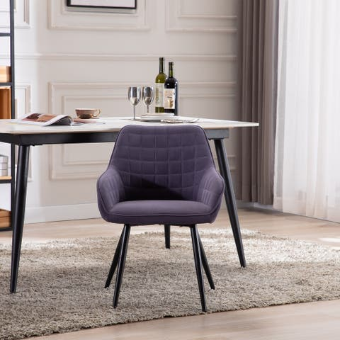 upholstered dining chair - N/A
