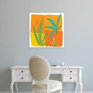 Easy Art Prints Jan Weiss's 'Grasses II' Premium Canvas Art