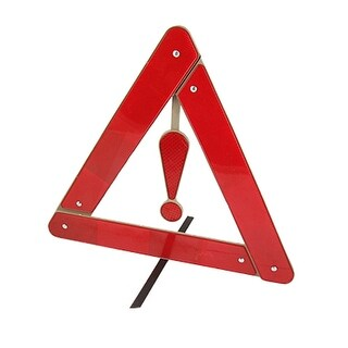 Unique Bargains Roadway Foldup Red Gray Emergency Reflecting Triangle
