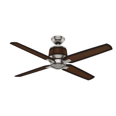 """Casablanca 54"""" Aris Damp Rated Ceiling Fan with Wall Control"""