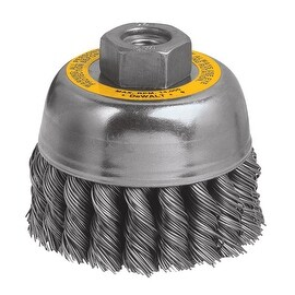 "DeWalt 3"" Knotted Cup Brush"