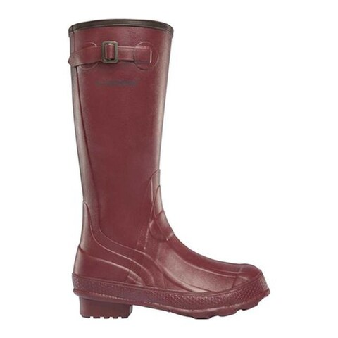 "LaCrosse Women's Grange 14"" Wellington Boot Brick Red"