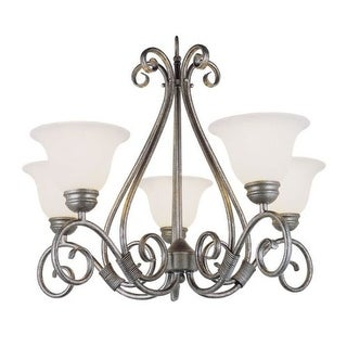 globe lighting chandelier. Trans Globe Lighting 6395 Five Light Up Chandelier From The New Century Collection (2 W