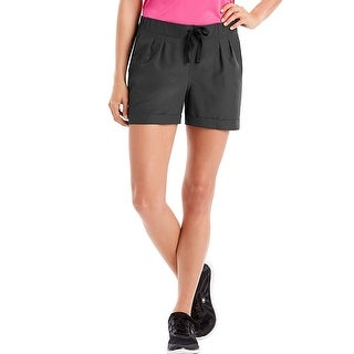 Hanes Sport Women's Performance Woven Shorts - Color - Stealth - Size - XL