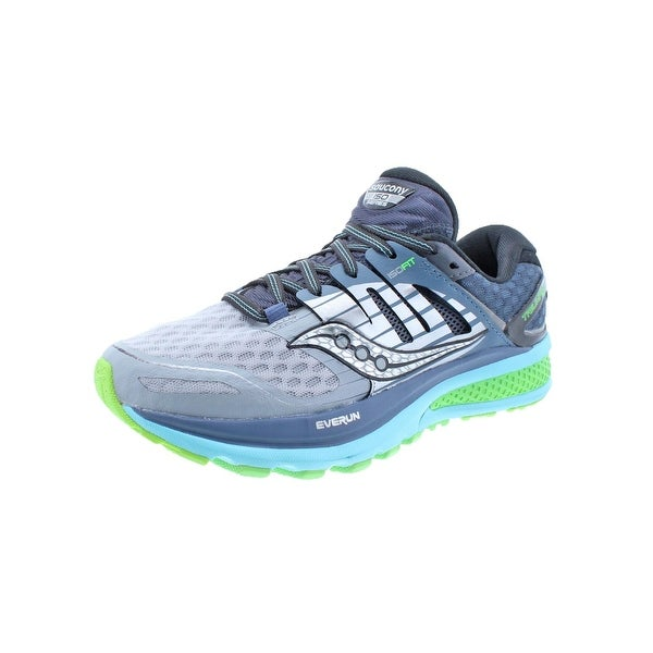 Saucony Womens Triumph ISO 2 Running Shoes ISOFit Ever Run